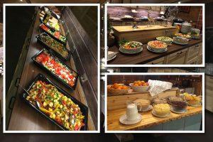 Comer en Wilderness Hotel Nellim