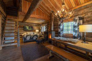 Interior cabaña - Wilderness Hotel Nellim