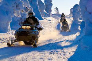 Motos de nieve - Laponia