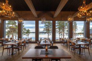 Comedor Wilderness Hotel Inari