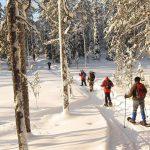 Raquetas de nieve - Kuusamo - dia 3