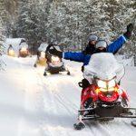 Motos de nieve - Kuusamo - dia 4