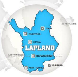 Llegar a Laponia - Aeropuertos