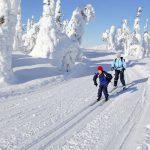 Esqui de fondo - Nellim dia 2