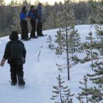 Raquetas de nieve - Nellim dia 3