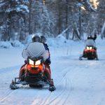 Motos de nieve - Nellim dia 4