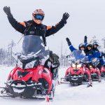 Motos de nieve - Especial parejas - dia 4