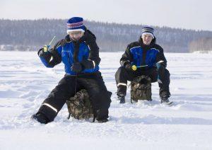 Pesca en hielo - Laponia