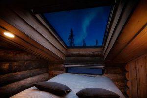 Habitación techo cristal Rukan Salonki