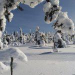 Raquetas de nieve - Navidad en Salla - dia 2