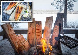 salmon - Gastronomía en Laponia