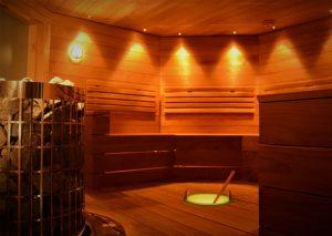 Sauna finlandesa en Laponia