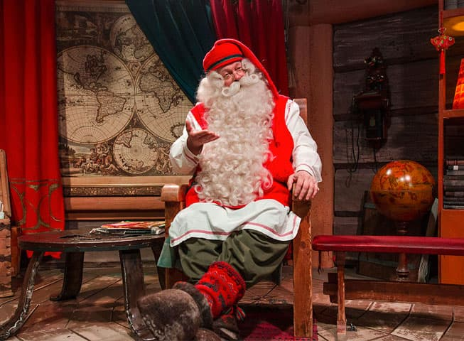 Visita a Papá Noel - Laponia