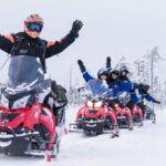 Ivalo- Motos de nieve