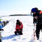 Ivalo- Pesca en hielo