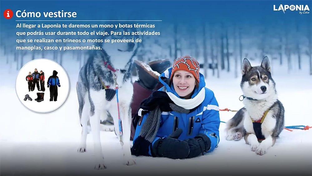 Ropa Laponia - Navidad 2021 en Laponia