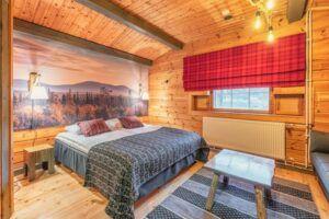 Dormitorio Hotel Harriniva