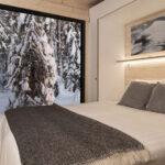Cabaña con vistas en Arctic Cyrcle wilderness _Resort