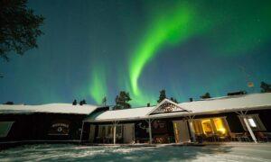 Wilderness hotel Muotka recepcion